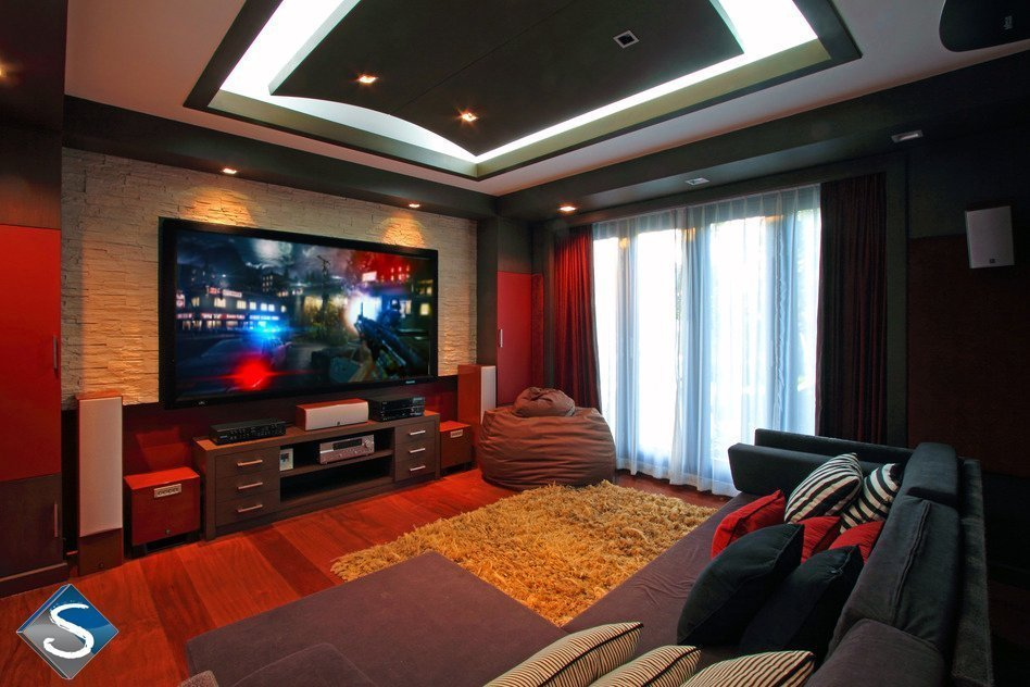 attic living space ideas - Media Rooms San Diego Audio Video