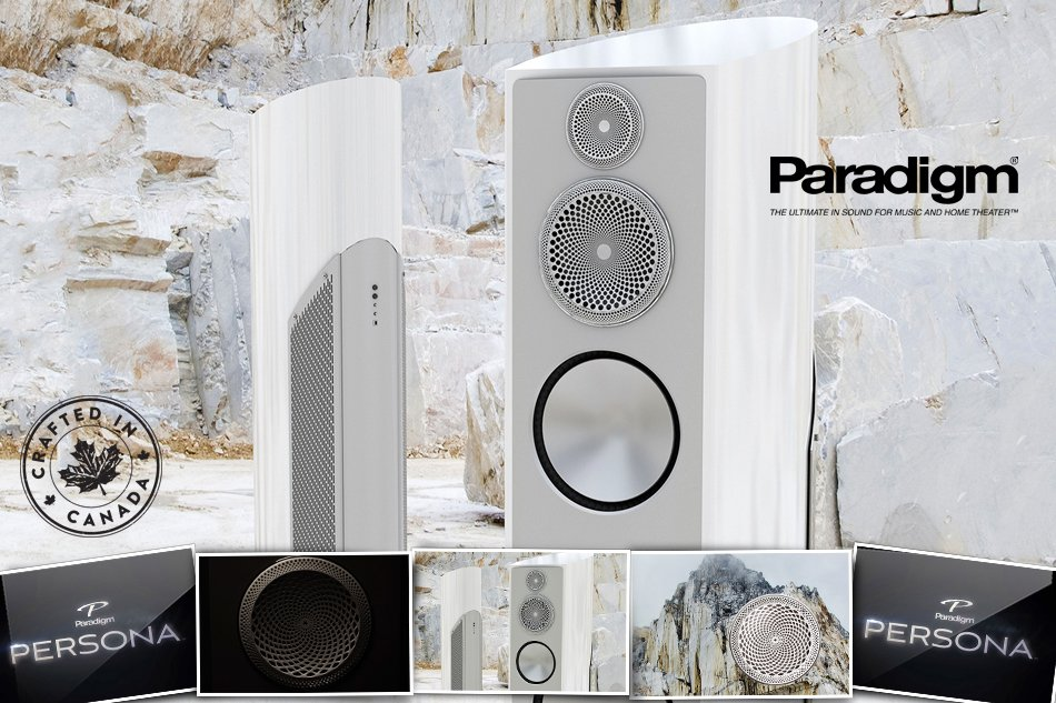A picture of the newest Paradigm speaker Persona by Paradigm.